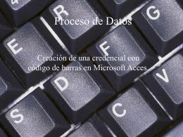 Proceso de Datos