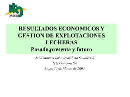 RESULTADOS ECONOMICOS Y GESTION DE …