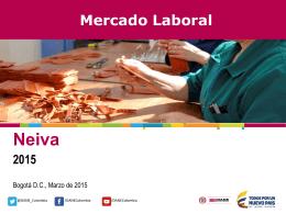 PRINCIPALES RESULTADOS DEL MERCADO LABORAL …