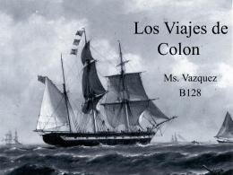 Los Viajes de Colon