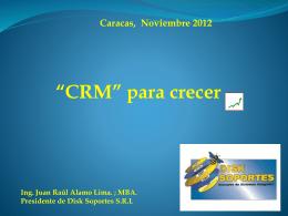 Diapositiva 1 - .:: CRM