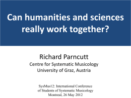 Can humanities and sciences really work together?