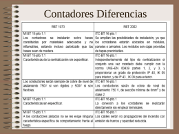 Contadores Diferencias