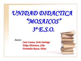 Unidad Didactica Mosaicos