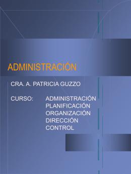 DIRECCION Y ORGANIZACIONES