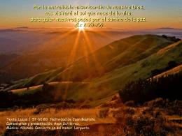 24 Junio Natividad de Juan Bautista