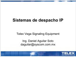 Telex/Vega VoIP
