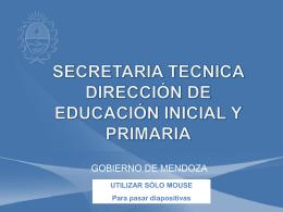 Diapositiva 1 - Bienvenidos al Portal Educativo de Mendoza