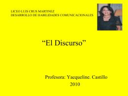 Diapositiva 1 - Bienvenidos a la web LCM