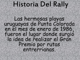 Historia Del Rally