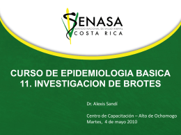 Diapositiva 1 - SENASA SENASA