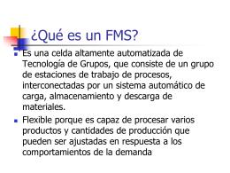 Ch. 16 Sistemas de Manufactura Flexible
