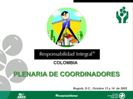 Comite Regional - Responsabilidad Integral Colombia