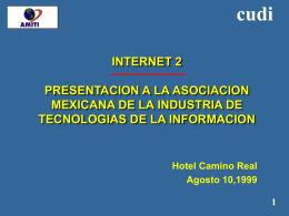 INTERNET 2 TELMEX-CUDI
