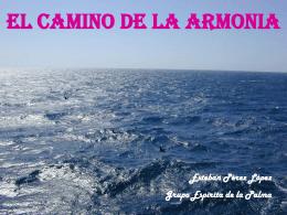EL CAMINO DE LA ARMONIA