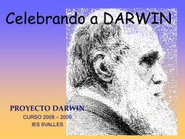CHARLES DARWIN - BIENVENIDOS AL IES 9 VALLES