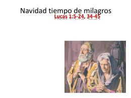 Navidad tiempo de milagros