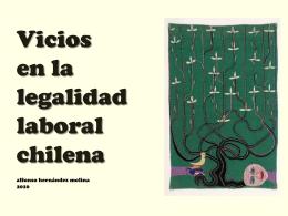 VICIOS EN LA LEGALIDAD LABORAL