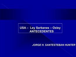 Ley SARBANES