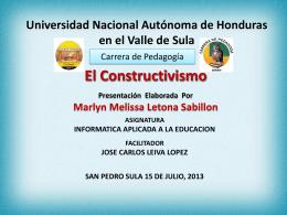 Univeridad Nacional Autonoma de Honduras en el Valle de …