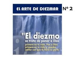 EL ARTE DE DIEZMAR
