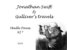 Jonathan Swift & Gulliver's travels - literature11