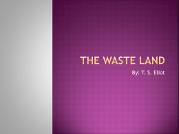The Waste Land
