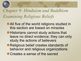 Hinduism and Buddhism Examining Religious Beliefs