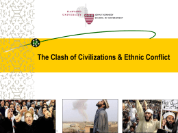 Islamic culture and the Roots of 9/11: Testing the Clash