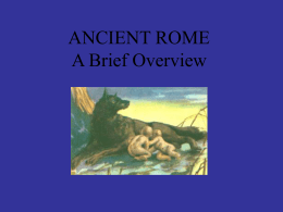 PowerPoint Presentation - Women in Ancient Rome & …