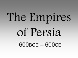 The Empires of Persian
