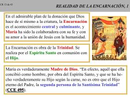 REALIDAD DE LA ENCARNACION, 1