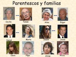 Parentescos y familias
