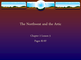 The Northwest and the Artic