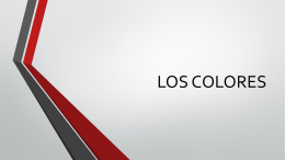 LOS COLORES - Davis School District / Overview