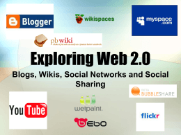 Exploring Web 2.0 - Bucks County Community College