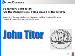 John Titor - Ammannato