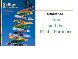 Asia and the Pacific Potpourri