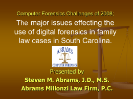 Digital Forensics Investigation