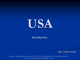USA Introduction