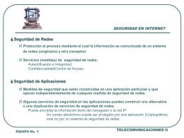 Diapositiva 1 - ::Telecomunicaciones II::