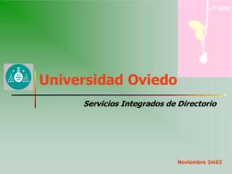 servicios integrados de directorio