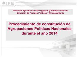 Diapositiva 1 - Instituto Nacional Electoral