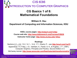 CIS736-Basics-01-Math - K