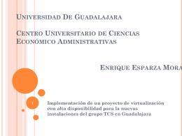Universidad De Guadalajara Centro Universitario de