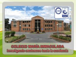 Diapositiva 1 - COLEGIO MARIA INMACULADA