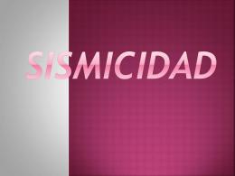 SISMICIDAD