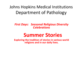Johns Hopkins Hospital Department of Pathology