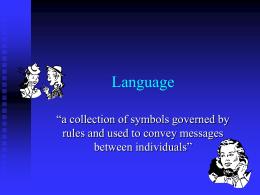 Language - CSU Fullerton
