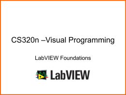 CS329e – Elements of Visual Programming